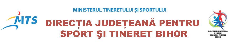 Direcţia Judeteană pentru Sport si Tineret  Bihor