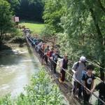 Pe punte spre Unguru mare Tinerii ambasadori ai naturii iunie 2015