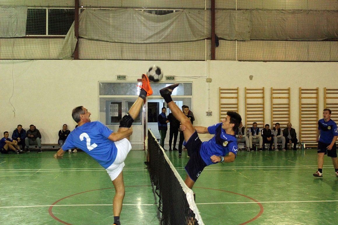 Podium bihorean la Campionatul României la tenis cu piciorul