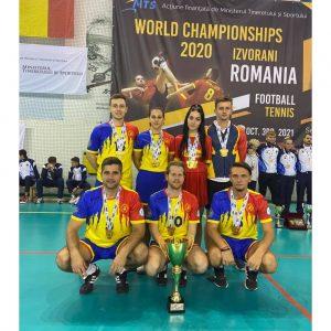 Campionatele Mondiale de Fotbal-Tenis. Salbă de medalii pentru salontanii de la Tengo